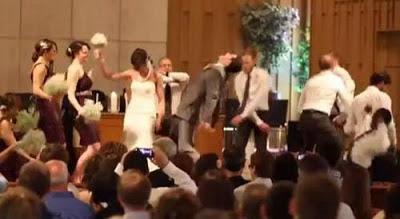 Свадебный harlem shake