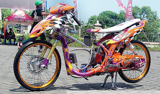 Wallpaper Motor Drag Mio Tercepat
