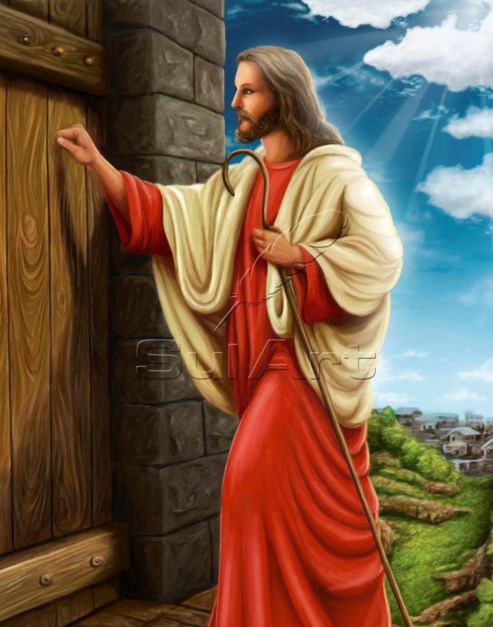 Cantinho da ozana jesus a porta for Jesus a porta
