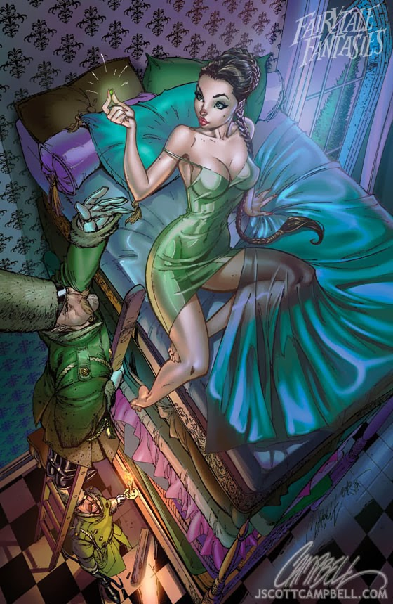 princess and the pea Fairytale Fantasies Disney
