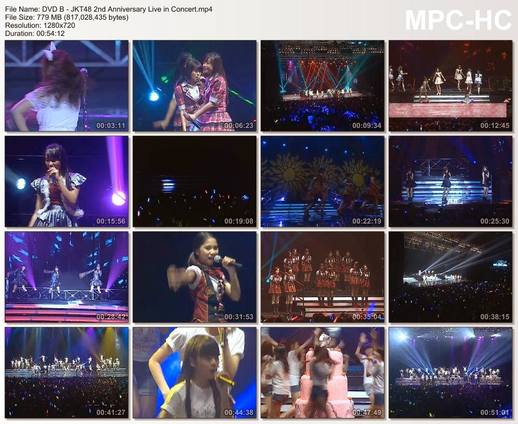 """Download JKT48 2nd Anniversary Live in Concert """"Performing All Out!"""" - Terimakasih Telah Menjadi Temanku"""