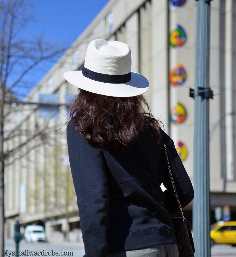 Panama hat street style