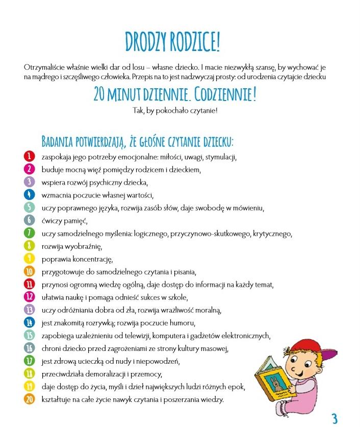 Badania potwierdzają, że głośne czytanie dziecku: