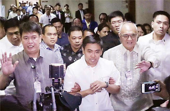 Makati Mayor Junjun Binay Arrested for Contempt of Court