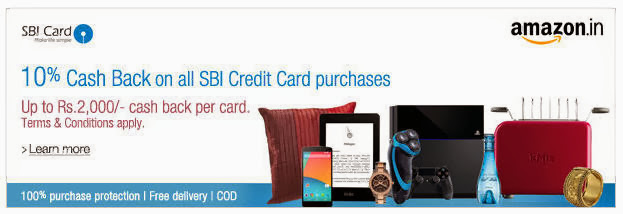 http://www.amazon.in/gp/feature.html/?ie=UTF8&camp=3626&creative=24822&docId=1000757893&linkCode=ur2&tag=tam-21%22%3E10%%20CashBack%20SBI%3C/a%3E%3Cimg%20src=%22https://ir-in.amazon-adsystem.com/e/ir?t=tam-21&l=ur2&o=31