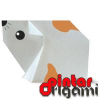 Cara Membuat Origami Hamster