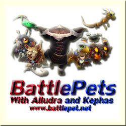 Battle Pets with Alludra and Kephas