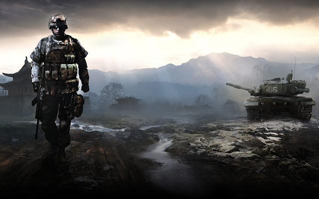 papel de parede para desktop battlefield play4free game