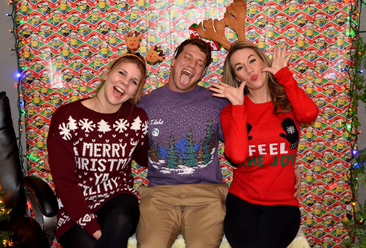 Ugly Sweater Party Photo Booth