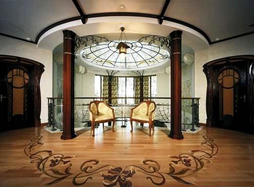 Loveisspeed art nouveau style house villa liberty for Art nouveau interior design bedroom