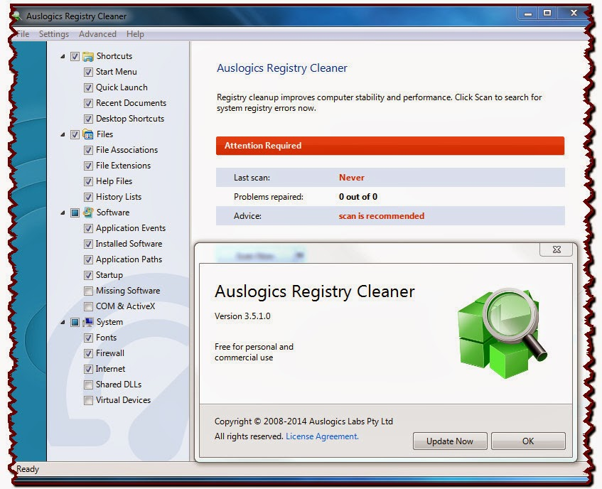 how to clean up your registry