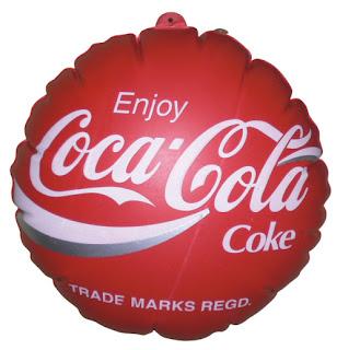 Balon Coin Coca cola