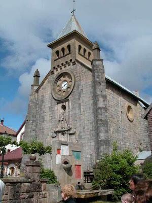 Igreja de Burguete, no vale de El Roncal