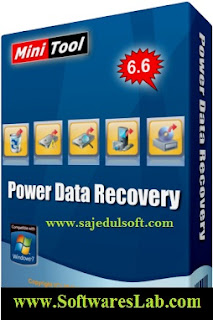 Minitool Power Data Recovery 6.6, Image, Box,