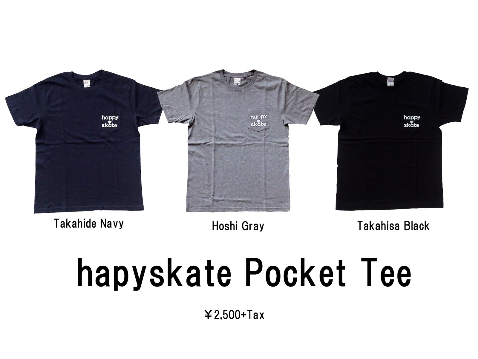 happyskate Pocket Tee