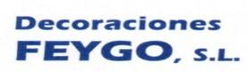 DECORACIONES FEYGO,SL