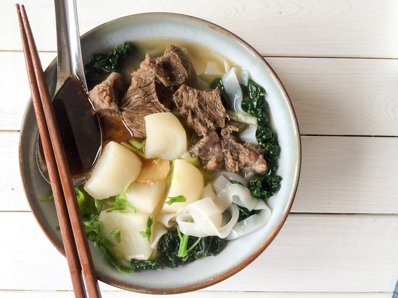 Hollow Legs: Clear Beef & Turnip Soup