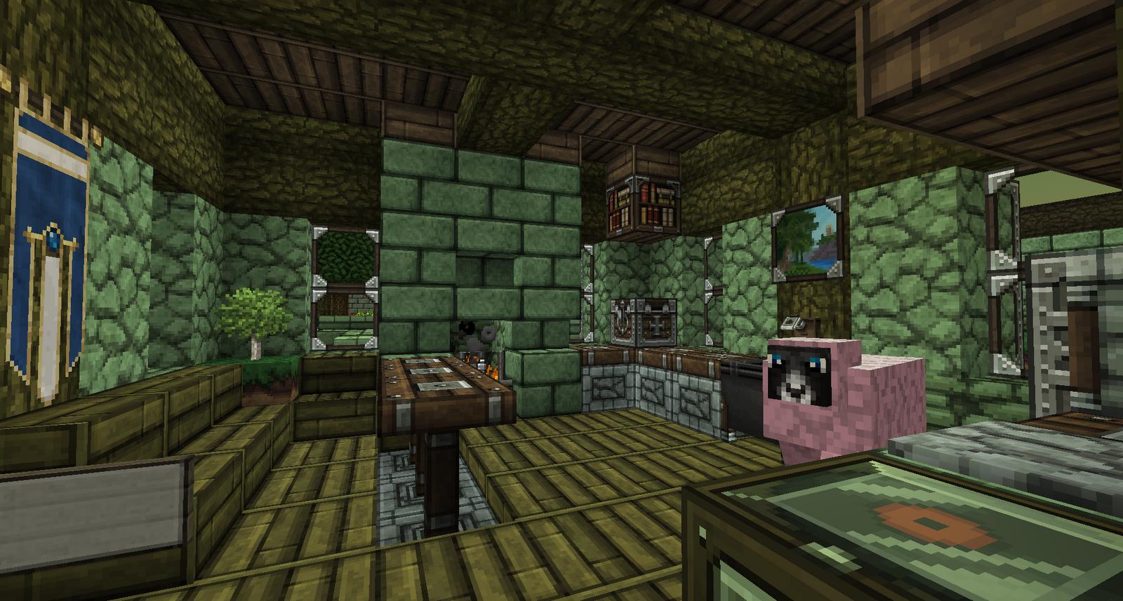Ryuki herself yuki 39 s zuhause in minecraft - Minecraft inneneinrichtung ...
