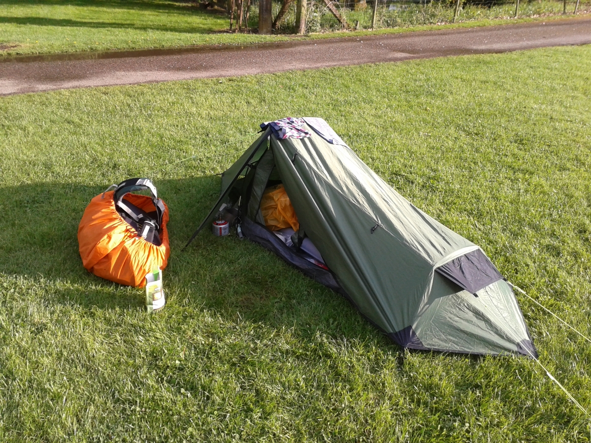 Walkaway Outdoor & Walkaway Outdoor: Review: Gelert Solo tent