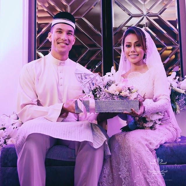 Gambar Majlis Perkahwinan Lana Nordin