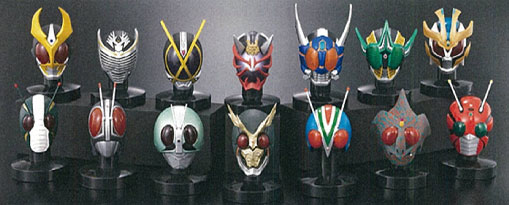 Kamen Rider MasColle Best Selection Vol.3