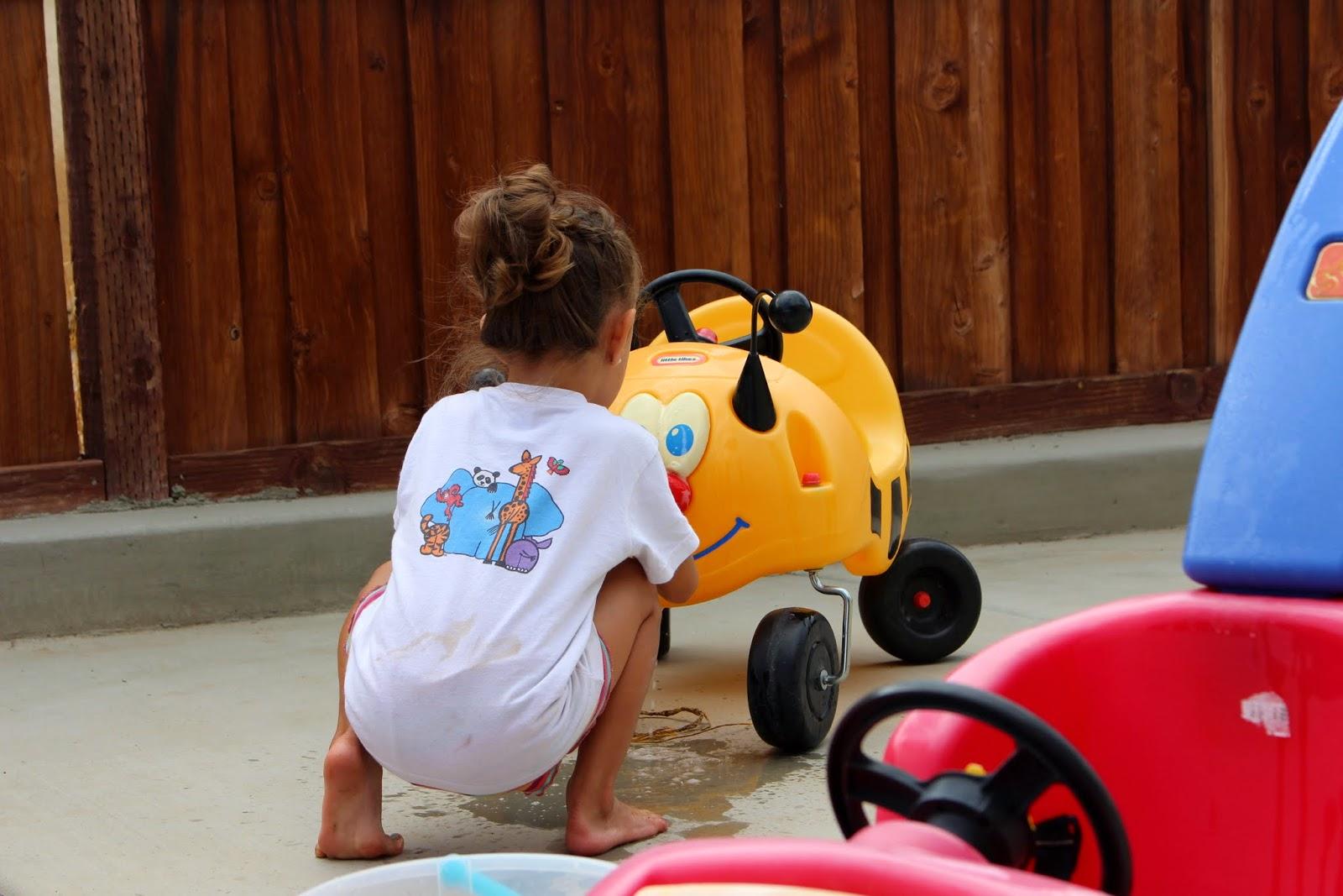TOY CAR WASH - Mehaffey Moments