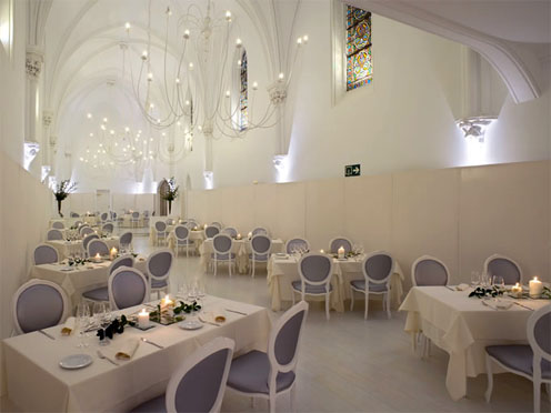 Restaurante La Capilla. Hotel Puerta del Camino. II edición de los Premios La Capilla. Lo mejor de la Gastronomía Navarra