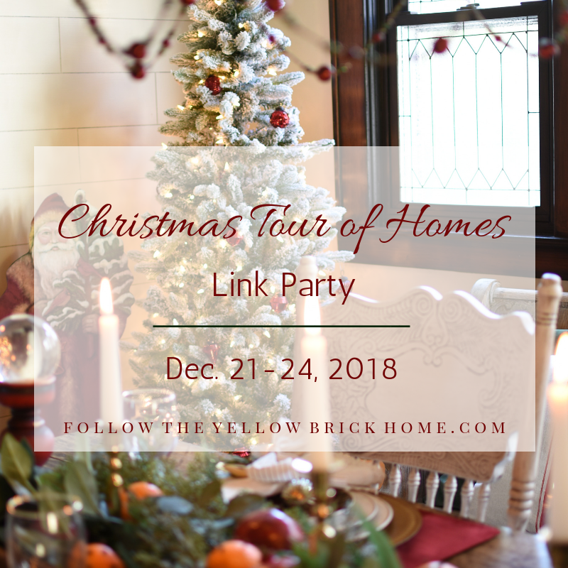 Christmas Tour of Homes Link Party