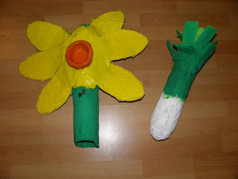 Image Result For How To Make A Craft Daffodil For Eisteddfod