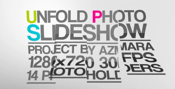 VideoHive Unfold Photo Slideshow