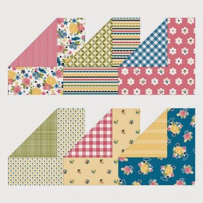129310 Gingham Garden Designer Series Paper