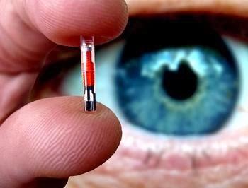 Risultati immagini per microchip umano