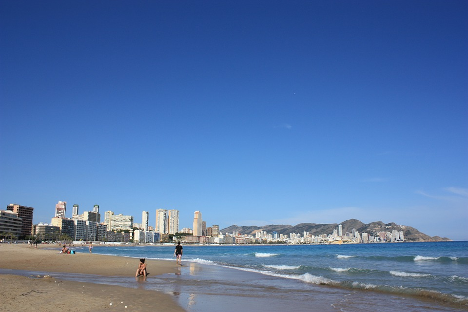 benidorm, summer holidays, beach