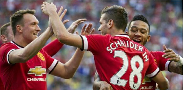 Schneiderlin Bawa Man United Menang 1-0