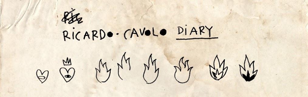 RICARDO·CAVOLO DIARY