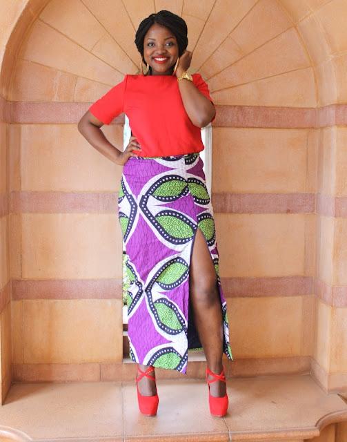 bold kitenge wear
