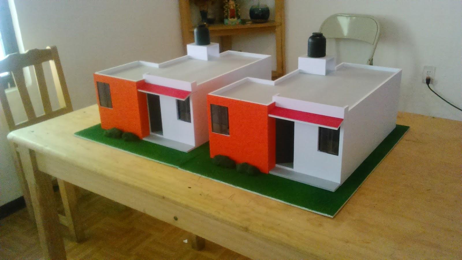Maquetas de casas modernas con piscina m 225 s de 1000 for Casa moderna maqueta
