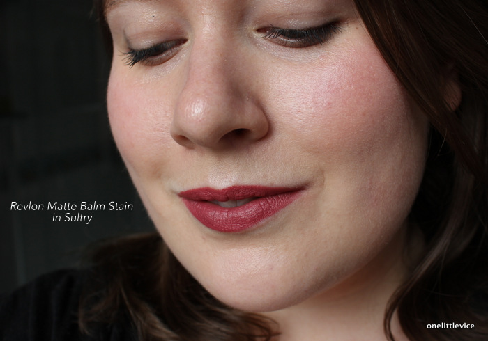 onelittlevice beauty blog: dark nude lisptick