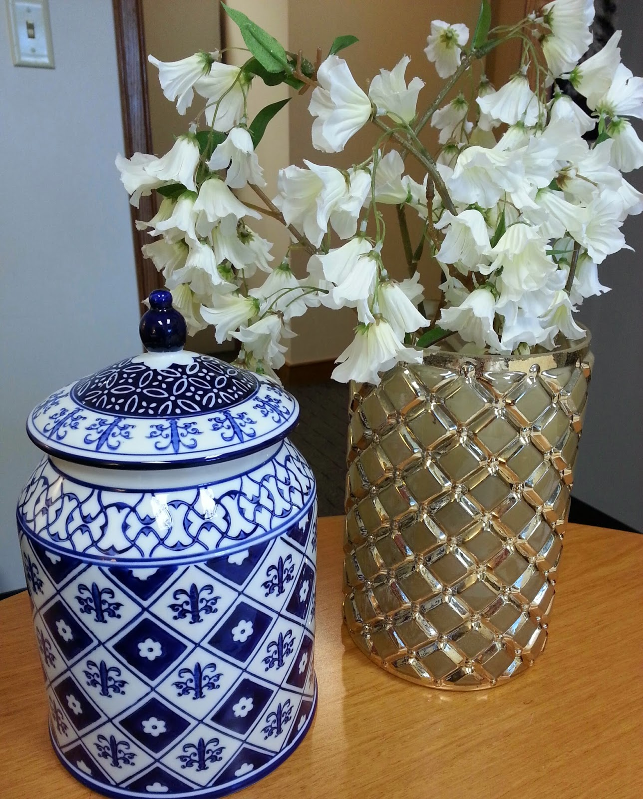 A home for elegance blue and white at pier 1 imports able to purchase this one for about 23 i was so excited i would encourage anyone to visit their local store it will inspire you to create beauty reviewsmspy