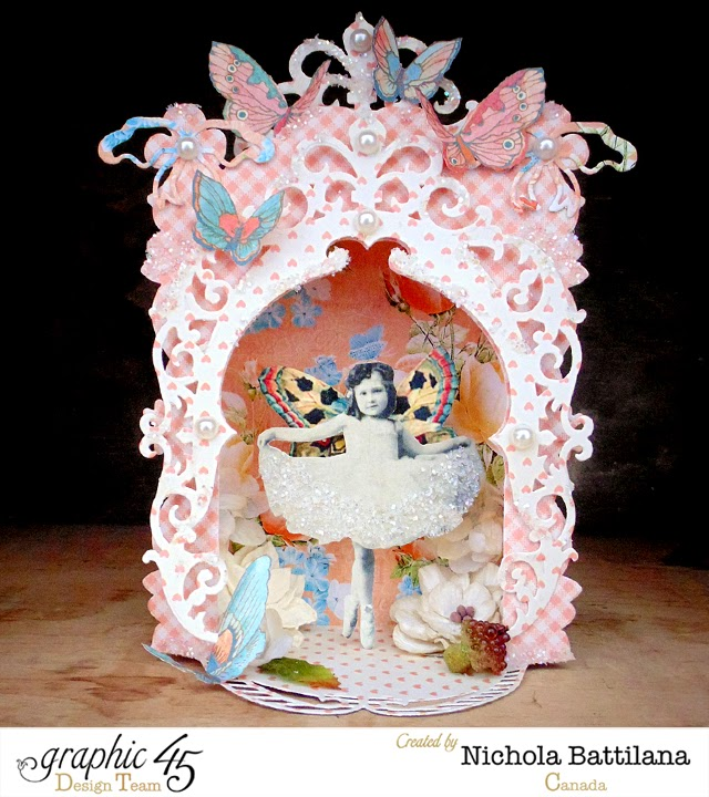 Fairytale Stage with Graphic 45 and Spellbinders - Nichola Battilana