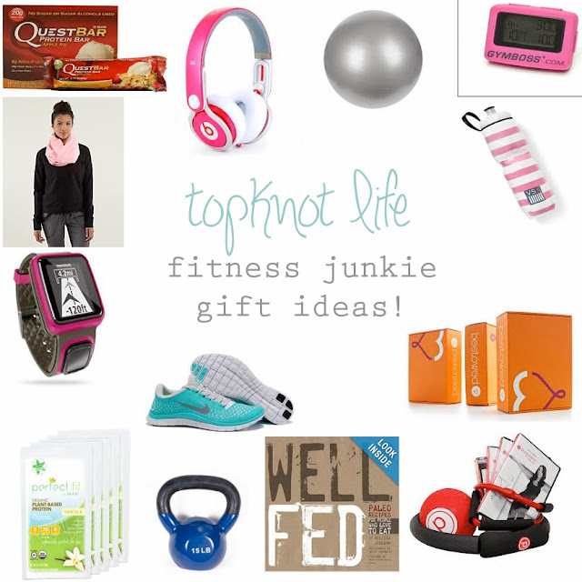 Fitness Junkie Gloves: Topknot Life: Fitness Junkie: Gift Guide
