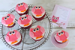 Cupcakes Buho, Buffet y Postres para Fiesta