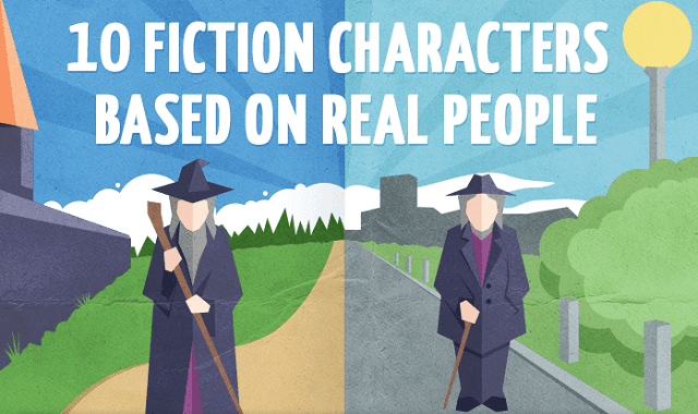 10 Fiction Characters Based on Real People