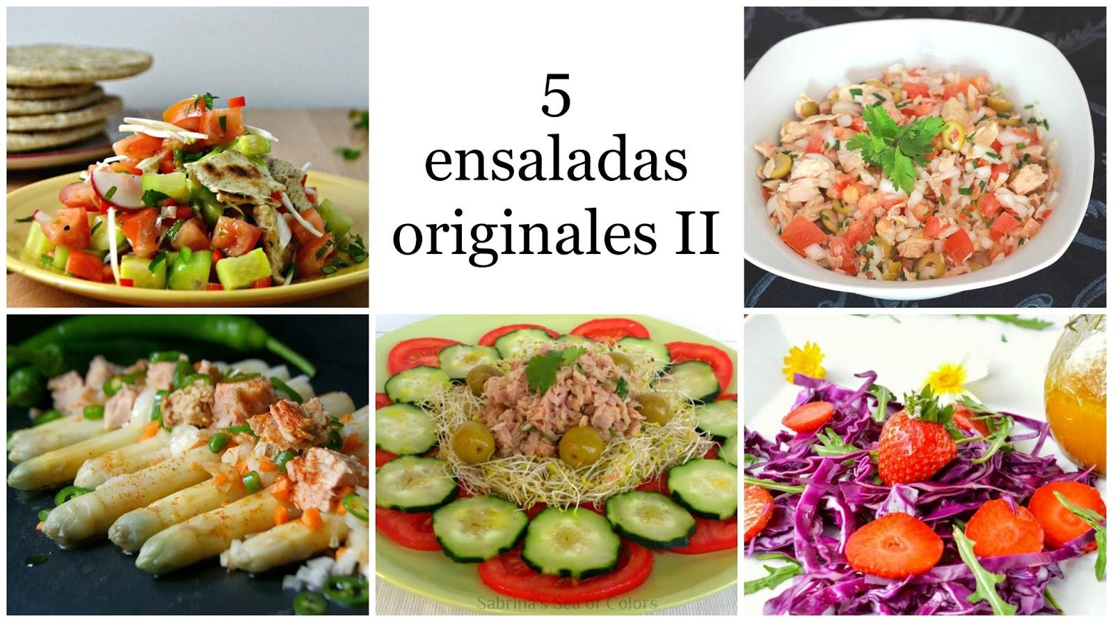 Paseo por la red 5 ensaladas originales II Cuuking Recetas de cocina