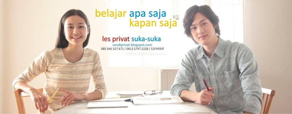 Sandi Privat | Les Privat di Malang (Guru Datang ke Rumah Siswa)