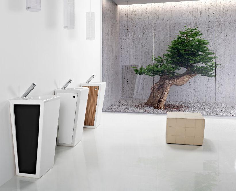 Muebles Lavabos Para Baños Pequenos:de lavabos que acaba de lanzar la firma sanindusa está pensada para