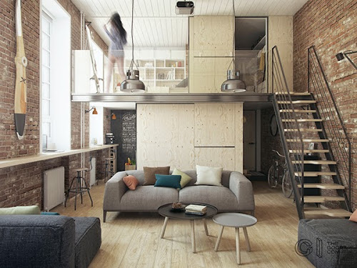 Haruki's Apartment by The Goort