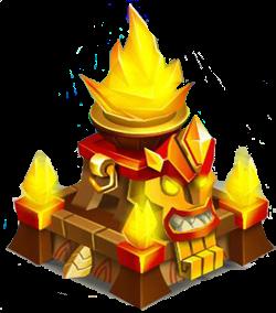 imagen del templo de fuego de monster legends