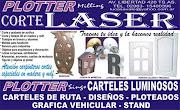 PLOTTER CORTE LASER..AVDA. LIBERTAD 420 TRES ARROYOS TEL. 15400396