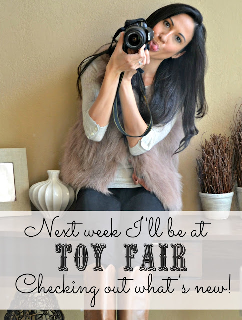 I'm heading to Toy Fair 2013 in New York to bring you some great new toys! #TFNY #TF13